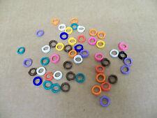 Spiral Plastic Leg Bands- Sz 9, 9/16in. inside-Pkg. 100