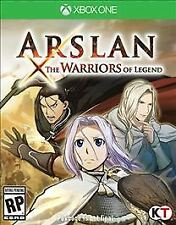 Arslan: The Warriors of Legend (Microsoft Xbox One, 2016) COMPLETE