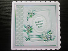 Hand Made Card For Sympathy/ So Sorry for your Loss / Bereavement