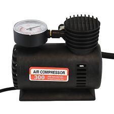12V Portable Mini Air Compressor 300 PSI Bike Car Van Tyre Inflator Cigarette