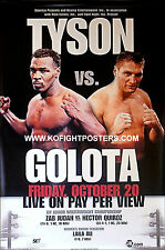 MIKE TYSON vs. ANDREW GOLOTA / Original SHOWTIME PPV Boxing Fight Poster