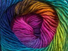 Primadonna Rainbow Ice Fine Baby Weight Self-Striping Wool Acry Yarn 100gr 40633