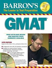 Barron's GMAT with CD-ROM (Barron's Gmat Graduate Management Admission Test)