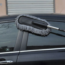 Cleaning Car Long Handle Retractable Car Wash Brush Dust Duster Wax Mop