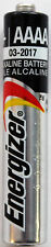 6PC Energizer AAAA Batteries E96 loose cells - ships from Canada, expire in 2019