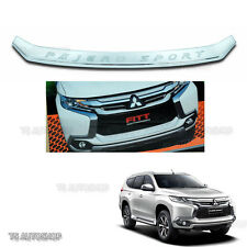 For Mitsubishi Pajero Montero Sport 2016 Fitt Chrome Front Bumper Line Garnish