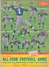 1939-NY GIANTS  v.COLLEGE ALL AMERICANS (LUCKMAN)@ SOLDIERS FIELD--PROGRAM-XLNT