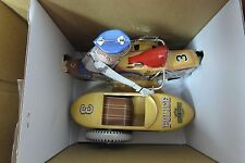 HARLEY DAVIDSON RARE 1950'S TIN TOY XONEX LIMITED EDITION SIDECAR POLICE YELLOW