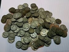 (40) SILVER WAR NICKELS! 35% SILVER INVESTMENT! JEFFERSON NICKEL COINS! 1 ROLL!
