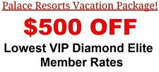 Beach Palace Resort Hotel VIP Concierge Level All Inclusive Cancun Mexico