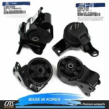 GENUINE Engine Mount & Transmission Mount Set M/T For 07-08 Hyundai Tiburon 2.0L