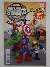 SDCC San Diego Comic Con 2011 Marvel Super Hero Squad Online Comic ONE SHOT 1