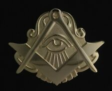 Masonic Square & Compasses with All-Seeing Eye Pin (MAS-50) LARGE