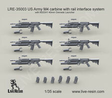 Live Resin 1/35 LRE-35003 US Army M4 carbine with M203A1 40mm Grenade Launcher