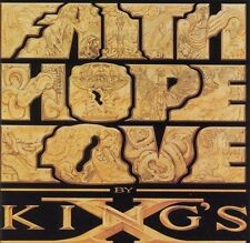 Faith Hope Love by King's X (Cassette, Oct-1990, Megaforce)
