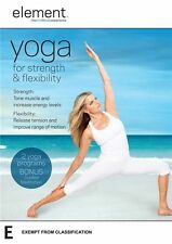 Element: Yoga for Strength and Flexibiltiy - Yoga Journal NEW R4 DVD