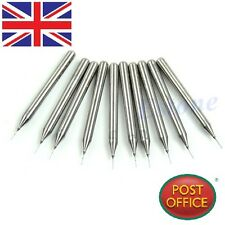 10pcs 0.3mm Carbide Steel Micro Engraving Drill Bits Tool CNC PCB Dremel