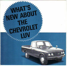 Chevrolet Luv KB20 Pick-Up Original Mid 1970s South African (?) Sales Brochure