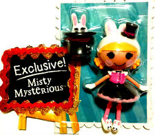 NEW!! Exclusive! Mini Lalaloopsy Misty Mysterious w Bunny Slippers! Super RARE!