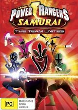 Power Rangers Samurai: Vol 1 - The Team Unites DVD NEW