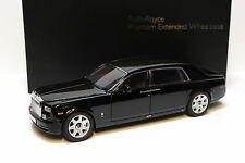 1:18 Kyosho Rolls Royce Phantom EWB Diamond black NEW bei PREMIUM-MODELCARS