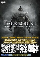 Dark Souls 2 Official Complete Guide Book PS3