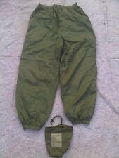 BRITISH ARMY THERMAL SOFTIE COLD WEATHER TROUSERS MEDIUM GREEN/SAND REVERSABLE