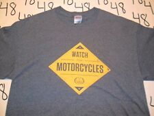 Large- Watch For Motorcycles T- Shirt
