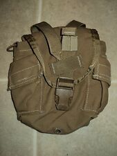 USMC ISSUE COYOTE 1 QT. CANTEEN COVER GENERAL PURPOSE POUCH FILBE CIF W/NSN