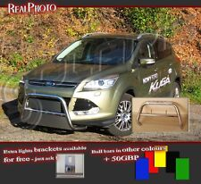 FORD KUGA MK2 BULL BAR NUDGE BAR  A BAR + GIFT !!!  STAINLESS STEEL