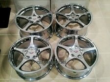 "Chrome C5 Corvette wheels 17/18"" Combo"