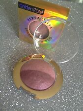 GOLDEN ROSE OMBRE FARD A PAUPIERES DUO 302 PRUNE & ROSE NACRE TRES BEAUX PIGMENT