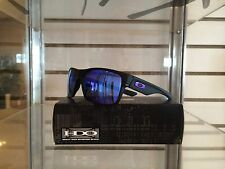 New Oakley Two Face OO9189-08 Matte Black w/ Violet Iridium Lens -100% REAL