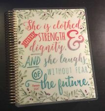 Proverbs 'Clothed in Strength' Cover Set for use with Erin Condren Life Planner