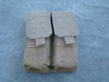 USMC Coyote MOLLE II Double Mag Pouch - used Condition w/ removed elastic strip