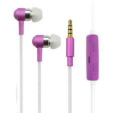 Color changing LED Light Up Earphones Headphones for Apple & Android Devices