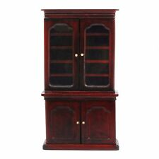 DOLLS HOUSE 1/12th SCALE  MAHOGANY BOOK CASE