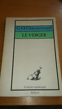 G.-O. Chateaureynaud - Le Verger - Editions Balland (1978)
