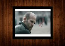 JASON STATHAM SIGNED FRAMED PP A4 PRINT GIFT IDEAS EXPENDABLES TRANSPORTER
