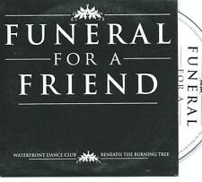 FUNERAL FOR A FRIEND  Waterfront Dance Club- Beneth The Burning Tree PROMO CD