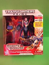 "HASBRO TRANSFORMERS PRIME ""THUNDERTRON""  FIGURE VOYAGER  ROBOTS IN DISGUISE"