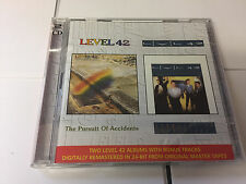 Level 42 - Pursuit of Accidents/Standing in the Light (2000) 2 CD SET - NEW