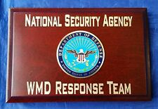 NSA National Security Agency WMD Response Team US Department of Defense Signage