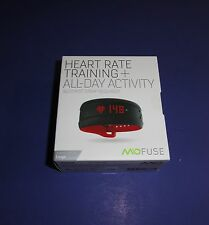 NEW MIO Fuse Black/Red Large Heart Rate Training Watch