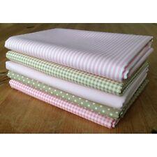 Blenders LATTE BEIGE & PINK fabrics FQ Bundle 100% cotton