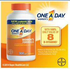 One A Day Women's Complete Multivitamin 300 tablets BAYER HEALTH