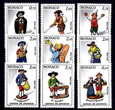MONACO - 1984 - Natale. Statuette per presepe provenzali.