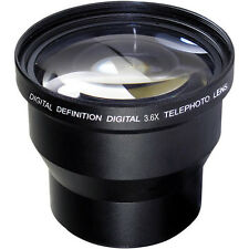 49MM 3.6X TELEPHOTO ZOOM LENS FOR CANON EOS M6 MIRRORLESS  WITH 15-45MM LENS