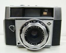 VINTAGE AGFA OPTIMA 500 CAMERA with 1:2.8/45 APOTAR LENS LEATHER CASE VERY NICE!