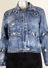 GODDESS  JACKET   DENIM   Size  14   (IME)